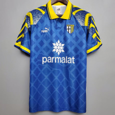 1995-1997 Parma Blue Retro Soccer Jersey