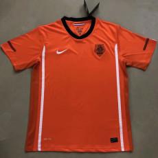 2010 Netherlands Home Retro Soccer Jersey
