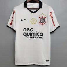 2010 Corinthians Home Retro Soccer Jersey