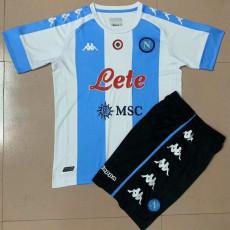 20-21 Napoli Fourth Kids Soccer Jersey