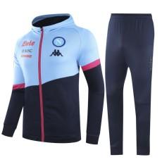 20-21 Napoli Royal Blue Hoodie Jacket Tracksuit