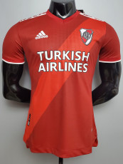 20-21 River Plate Away Red Player Version Soccer Jersey