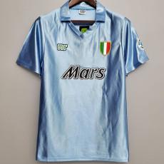 1990-1991 Napoli Home Retro Soccer Jersey