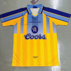 1995-1997 CHE Away Yellow Retro Soccer Jersey