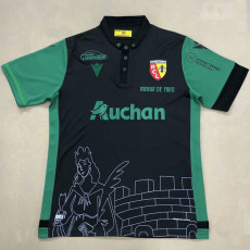 20-21 RC Lens Fourth Green Fans Soccer Jersey