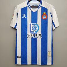 20-21 Espanyol Home Fans Soccer Jersey