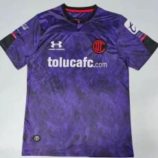 20-21 Toluca Third Purple Fans Soccer Jersey