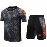 20-21 JUV Black Training Short Suit