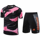 20-21 JUV Pink Black Training Short Suit