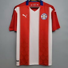 2021 Paraguay Home Fans Soccer Jersey