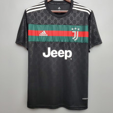 20-21 JUV Special Edition Black Fans Soccer Jersey