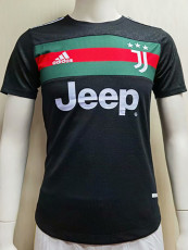 20-21 JUV Special Edition Black Player Version Soccer Jersey