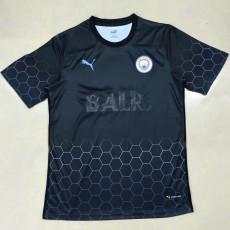 20-21 Man City BALR Black Soccer Jersey