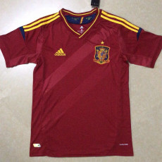 2012 Spain Home Retro Soccer Jersey