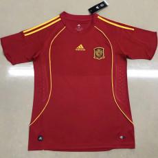 2008 Spain Home Retro Soccer Jersey