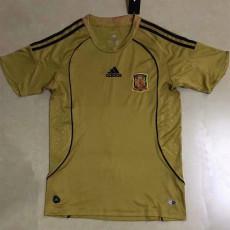 2008 Spain Away Retro Soccer Jersey