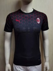 20-21 ACM BALR Black Player Version Soccer Jersey