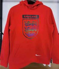 2021 England Original Quality Red Hoody