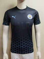 20-21 Man City BALR Black Player Version Soccer Jersey