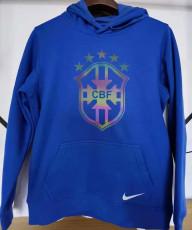 2021 Brazil Original Quality Blue Hoody