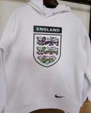 2021 England Original Quality White Hoody
