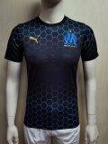 20-21 Marseille BALR Black Player Version Soccer Jersey