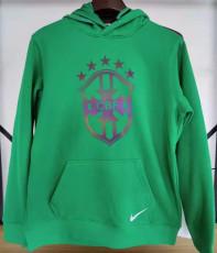 2021 Brazil Original Quality Green Hoody