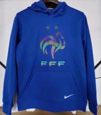 2021 France Original Quality Blue Hoody