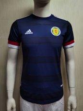 2021 Scotland Home Player Version Soccer Jersey