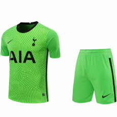 20-21 TOT Green GoalKeeper Soccer Jersey(Full Sets )