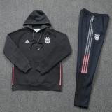 2021 Bayern Original Quality Grey Hoody Tracksuit (Full Sets)