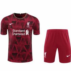 2021 LIV Special Version Red Soccer Jersey(Full Sets)
