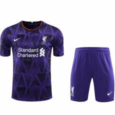 2021 LIV Special Version Purple Soccer Jersey(Full Sets)