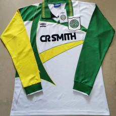 1994-1995 Celtic Away Long Sleeve Retro Soccer Jersey