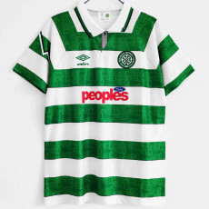 1991-1992 Celtic Home Retro Soccer Jersey