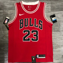 Bulls Jordan #23 Red Top Quality Hot Pressing NBA Jersey