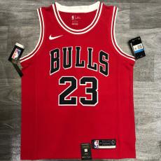 Bulls Jordan #23 Red Top Quality Hot Pressing NBA Jersey