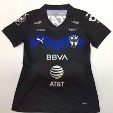 20-21 Monterrey Third Black Women Soccer Jersey