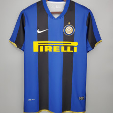 2008-2009 INT Home Retro Soccer Jersey