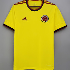 20-21 Colombia 1:1 Home Fans Soccer Jersey