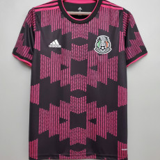 20-21 Mexico Home 1:1 Black Powder Fans Soccer Jersey
