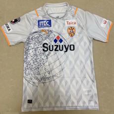 2021 Shimizu S-Pulse Away White Fans Soccer Jersey J1 清水心跳