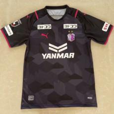 2021 Cerezo Osaka Away Black Fans  Soccer Jersey J1 大阪樱花