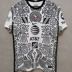 2021 Club America White Third Fans Soccer Jersey