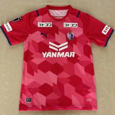 2021 Cerezo Osaka Home Red Fans  Soccer Jersey J1 大阪樱花