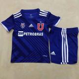 2021 Universidad De Chile Blue Kids Soccer Jersey