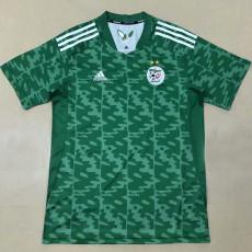 20-21 Algeria Away Green Fans Soccer Jersey