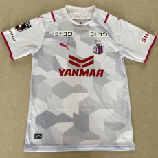 2021 Cerezo Osaka Away White Fans  Soccer Jersey J1 大阪樱花