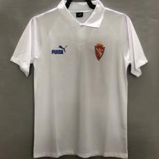 1995 ZARAGOZA Home White Retro Soccer Jersey