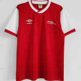 1983-1986 ARS Home Red Retro Soccer Jersey
